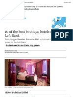 10 of the best boutique hotels on Paris's Left Bank | Travel | The Guardian.pdf