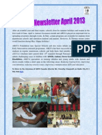 Aikya Newsletter April 2013