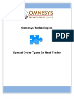 Special Order Types