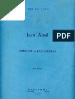 Prelude Et Barcarollle
