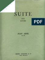 Suite Pour Guitare Op. 114