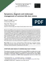 Endoscopic Managment of Common Bile Duct Stones