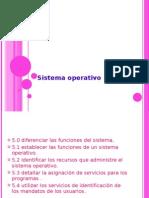 presentacion de operacion