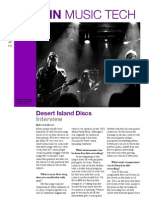 Desert Island Disc Newspaper