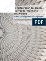 La restauration des grandes oeuvres d'ingénierie du XXème siècle- autour de la figure de Pier Luigi Nervi EPFL