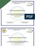 Certificado Del Taller de Herramientas de Autor