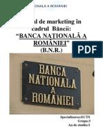 Mixului de Marketing BNR