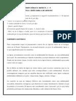 ACTIVIDAD II - EXÉGESIS MATEO 8 4 1