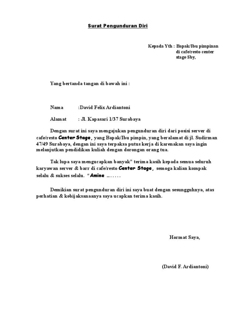 Surat Risend