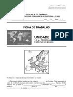 A Peninsula Iberica Na Europa