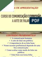 COMUNICAÇÃO - Mba - Comunicação - Falar Em Público