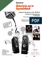 MUSICA POR LA IGUALDAD EN ALZIRA
