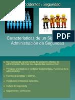 Clase 12 Características de un Sistema de Administración de la Seguridad