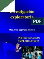 7. Investigación exploratoria