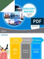 Nielsen Grocery Report 2012