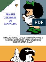 Quino - Las Frases Celebres de Mafalda