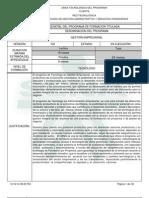 Estructura Curricular Gestio Empresarial