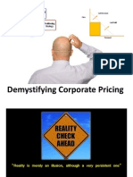 Demystifying Corporate Pricing