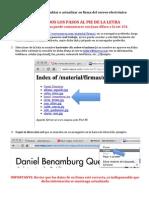 Manual para cambiar su firma del correo electrónico –MAYCA