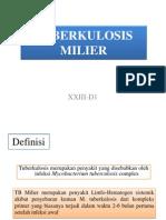 TUBERKULOSIS MILIER