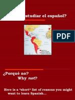 Porqué+estudiar+el+español