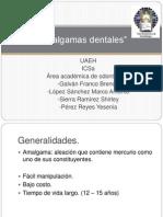 Amalgamas dentales (exposicion)