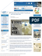 Think Fat-free Milk is Healthy_ 6 Secrets You Don't Know About Skim -- Healt