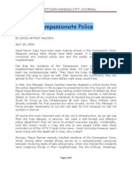 Compassionate Police and Compassionate Putas
