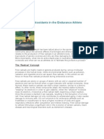 The Role of Antioxidants in the Endurance Athlete