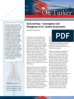 Syria and Iraq ― Convergence and Divergence in U.S.-Turkish Assessments