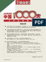 2006中国企业1000大