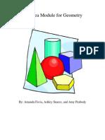 Big Idea Module for Geometry