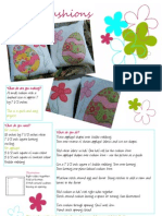 Easter Cushion Pattern