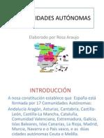 WEBQUEST COMUNIDADES AUTÓNOMAS Rosa