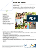 MHM 2013 Pathways to Wellness Toolkit - Fact Sheets