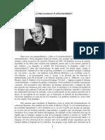 GILLES DELEUZE -Cómo reconocer el estructuralismo-