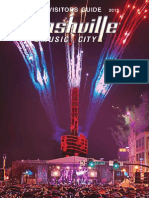 Nashville Visitors Guide July-Dec 2013
