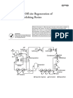 Guidelines for Off Site Regeneration of Condensate Polishing Resin