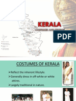 costumes and textiles of Kerala