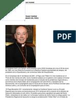 Cardenal Juan Luis Cipriani Thorne