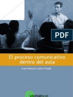 Proceso Comunicativo Dentro Del Aula