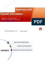 Optimize 3G Backhaul With Huawei Microwave Part 4