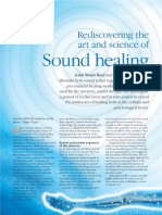 Rediscovering the Art and Science of Sound Healing