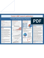 Trends in MSF Research Publications