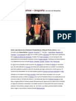 Simón Bolívar-biografìa
