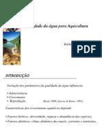 Apresentacao Karlia Amaral Qualidade Da Agua Para Aquicultura