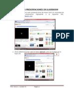 Publicar Presentaciones en Slideboom