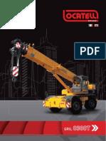 ERKE Group, Locatelli Gril 8300T Şehir içi Mobil Vinçler Kataloğu