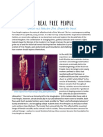 Free People Backgrounder
