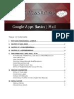 Google Apps Basics - Mail